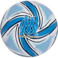 Bola De Futebol De Campo Olympique Marseille Future Flare Puma - Branco/Azul Cla