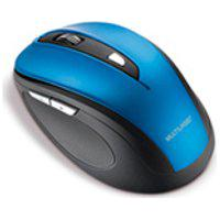 Mouse Multilaser, Comfort Sem Fio Usb, Azul Metalizado E Preto Mo240