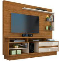 Home Theater Vicente Naturale/Off White Madetec