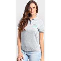 Camiseta Polo New Balance Cb Boucle - Feminino