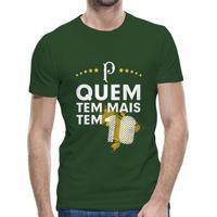 Camiseta Palmeiras Quem Tem Mais Tem 10 Masculina - Masculino