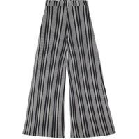 Calça Pantalona Feminina Em Malha De Viscose