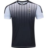 Camiseta Do Atlético-Mg Strike - Masculina - Branco/Preto