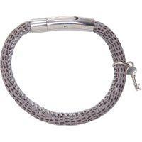 Bracelete Masculino Jack Sting - Cinza