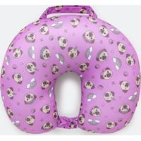 Travesseiro De Viagem Estampa Pug