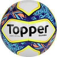 62d8fafb859b3 Netshoes; Bola Futebol Campo Topper Samba Ii - Unissex