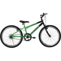 Bicicleta Aro 24 Mtb Sem Marcha Legacy Masculina Verde Athor Bikes
