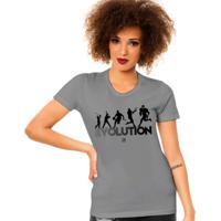 Camiseta Evolution - Futebol Americano - Feminino