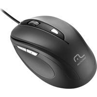 Mouse Comfort Usb 6 Botões Preto Mo241 Multilaser