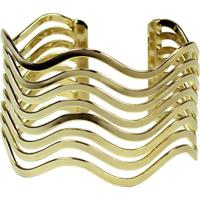 Bracelete Turpin Onda Dourado