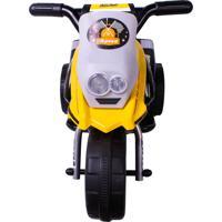 Triciclo Elet. G204 Infantil - Amarelo Belfix