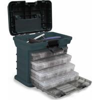 Caixa Plástica Organizadora Multibox Mb1 Com 4 Gavetas Ntk