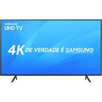 "Smart Tv Samsung Led 65"" Uhd 4K Un65Nu7100Gxzd Visual Livre De Cabos"