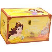 Baú Princesa Bela® - Amarelo & Marrom Claro - 32X50Xmabruk