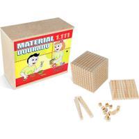 Material Dourado 1.111 Peças Mdf - Carlu - Kanui