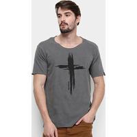 Camiseta Bossa Brasil Cross Masculina - Masculino-Vinho