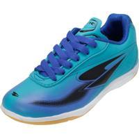 Chuteira Futsal Dray 305Co Azul-Preto