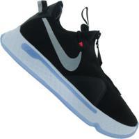 Tênis Nike Pg 4 - Masculino - Preto/Branco