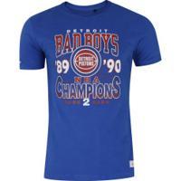 Camiseta Mitchell & Ness Detroit Pistons All Greats - Masculina - Azul
