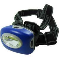 Lanterna A Pilha Com Suporte De Cabeça Alfacell - Unissex