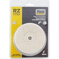 Roda De Polimento Para Furadeira 4 Para Mandril 1/2 Rp06043 Razi