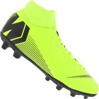 394e0ba8c8 Chuteira De Campo Nike Mercurial Superfly 6 Club Mg - Adulto - Amarelo Fluor