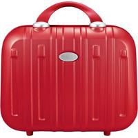 Frasqueira Contempo- Vermelha- 30X34,5X15,3Cm- Jjacki Design