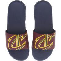 6b17f613b4 Chinelo Nike Nba Benassi Solarsoft - Slide - Masculino - Azul Esc/Vinho