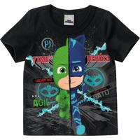 Camiseta Pj Masks® Menino Malwee Kids