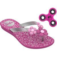 Chinelo Infantil Barbie Brinde Grendene Kids 21809