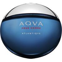 Perfume Masculino Aqva Atlantique Bvlgari Eau De Toilette 100Ml - Unissex-Incolor
