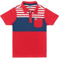 86ca5fdb93 ... Camisa Polo Infantil Trick Nick Masculina - Masculino-Vermelho