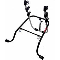 Suporte Veicular Altmayer Al-193 Transbike Luxo Premium Para 3 Bicicletas Preto