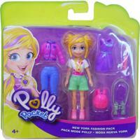 Polly Pocket Viagem De Modas Nova York - Mattel - Kanui