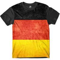 Camiseta Bsc Bandeira Alemanha Sublimada Masculina - Masculino
