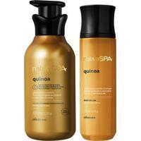 Combo Nativa Spa Quinoa: Loção Firmadora Corporal + Body Splash