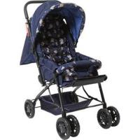Carrinho De Bebê Stillo Unissex - Unissex-Azul
