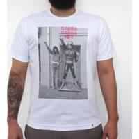 Gabba Gabba Hey - Camiseta Clássica Masculina