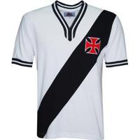 Camisa Liga Retrô Vasco 1974 Masculina - Masculino