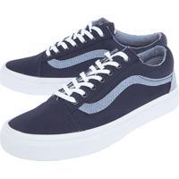 474676707 Tênis Vans Old Skool Azul Marinho