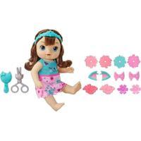 Boneca Baby Alive Penteados Diferentes Morena - Hasbro - Tricae
