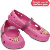 Sapato Infantil Keeley Disney Princess Flat K Pink - 24