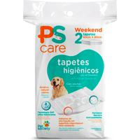 Tapete Higiênico Pet Society Ps Care Weekend 2 Unidades