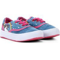 Tênis Bebê Unicórnio Via Vip - Feminino-Azul+Pink