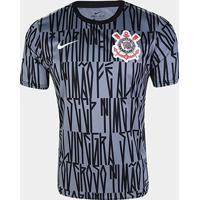 Camisa Corinthians Pré Jogo 19/20 Nike Masculina - Masculino