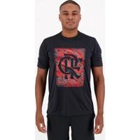 Camisa Flamengo Pride Masculina - Masculino-Preto