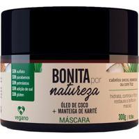 Máscara Bonita Por Natureza Coco E Karité 300G - Unissex