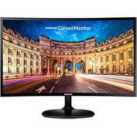 Monitor Curvo Full Hd Samsung Led 27 Polegadas C27F390 Preto