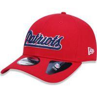 5d740a2788bfe ... Boné 920 New England Patriots Nfl Aba Curva Strapback New Era -  Masculino-Vermelho