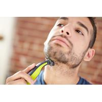 Barbeador/Aparador Philips Oneblade, Seco/Molhado, 2 Pentes - Qp2521/10